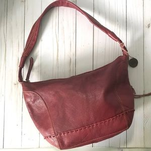THE SAK red leather bag